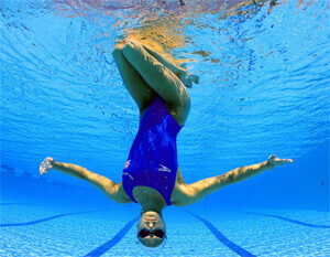 Упражнения в воде для женщин